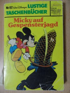 náhled knihy - Micky auf Gespensterjagd