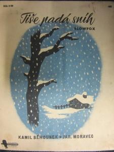 náhled knihy - Tiše padá sníh