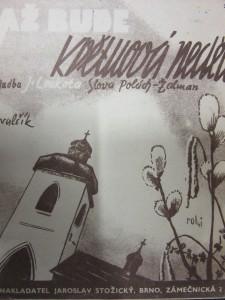 náhled knihy - Až bude květnová neděle lidový valčík
