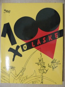 náhled knihy - 100 x o láske