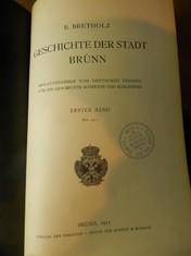 náhled knihy - Geschichte der Stadt Brünn, erster Band (bis 1411)