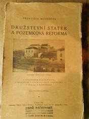 náhled knihy - Družstevní statek a pozemková reforma s vylíčením pracovních, výrobních a pachtovních družstev v Italii a Rumunsku