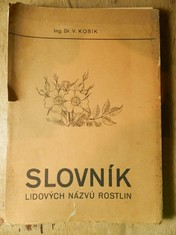 náhled knihy - Slovník lidových názvů rostlin