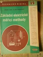 náhled knihy - Základní elektrické měřící methody