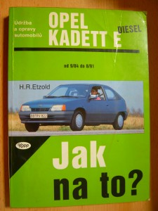náhled knihy - Údržba a opravy automobilů Opel Kadett E diesel