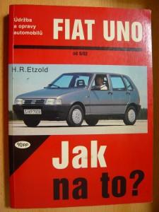 náhled knihy - Údržba a opravy automobilů Fiat Uno, Uno diesel