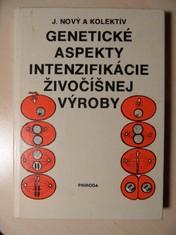 náhled knihy - Genetické aspekty intenzifikácie živočíšnej výroby