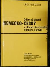 náhled knihy - Odborný slovník německo-český z oblasti ekonomické, finanční a právní