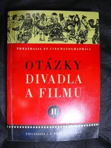 náhled knihy - Otázky divadla a filmu II.