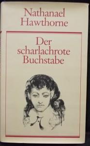 náhled knihy - Der scharlachrote Buchstabe (Šarlatové písmeno)