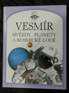 náhled knihy - Vesmír - hvězdy, planety a kosmické lodě