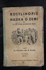 náhled knihy - Rostlinopis a nauka o zemi pro I. a II. třídu středních škol