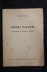 náhled knihy - Vodní slalom : Kanoistika na divokých vodách