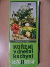 náhled knihy - Koření v dnešní kuchyni II.