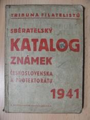 náhled knihy - Sběratelský katalog známek Československa a Protektorátu Čechy a Morava 1941 : Ceník pražských známek