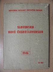 náhled knihy - Slovensko : Nové Československo 1946 (Novotného katalogy poštovných známok)