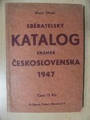 náhled knihy - Sběratelský katalog známek Československa 1947
