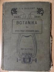náhled knihy - Botanika pro vyšší třídy středních škol