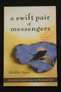 náhled knihy - A Swift Pair of Messengers : Calm with Insight from the Buddha´s Lips