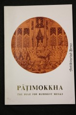 náhled knihy - Patimokkha : Rule for Buddhist Monks