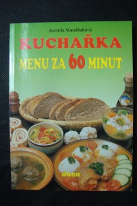 náhled knihy - Kuchařka : menu za 60 minut
