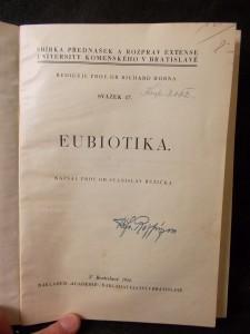 náhled knihy - Eubiotika čili dobrožilství