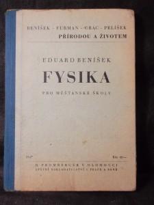 náhled knihy - Fysika pro měšťanské školy