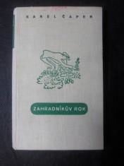 náhled knihy - Zahradníkův rok : [Pro poučení všech zahrádkářů]