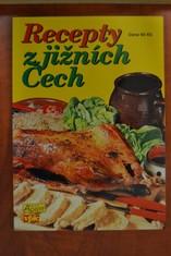 náhled knihy - Recepty z jižních Čech