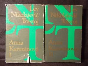 náhled knihy - Anna Kareninová 1. a 2. díl