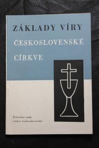 náhled knihy - Základy víry Československé církve