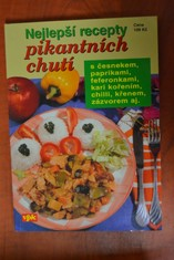 náhled knihy - Nejlepší recepty pikantních chutí