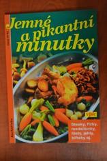 náhled knihy - Jemné a pikantní minutky