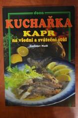 náhled knihy - Kuchařka : Kapr na všední a sváteční stůl