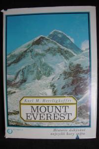 náhled knihy - Mount Everest : historie dobývání nejvyšší hory světa