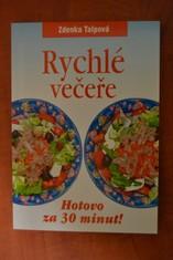 náhled knihy - Rychlé večeře