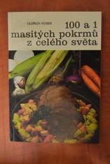 náhled knihy - 100 a 1 masitých pokrmů z celého světa