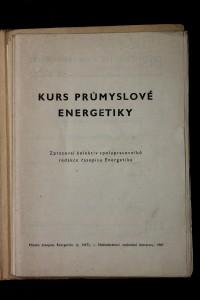 náhled knihy - Kurs průmyslové energetiky. Kurs jaderné energetiky.
