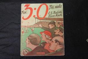 náhled knihy - Tři nula, Fox 3 : 0