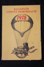náhled knihy - Kalendář lidové demokracie, 1978