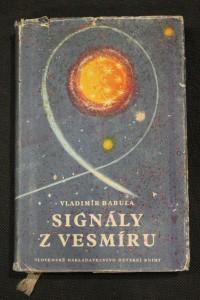 náhled knihy - Signály z vesmíru : vědecko-fantastický román