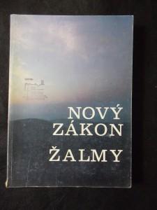 náhled knihy - Nový zákon a žalmy