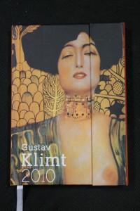 náhled knihy - Diář. Gustav Klimt 2010