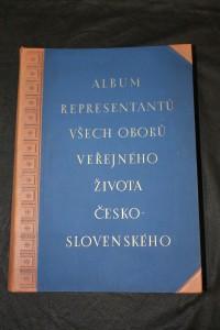 náhled knihy - Album representantů všech oborů veřejného života československého