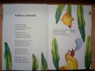 náhled knihy - Kačky a žvýkačky