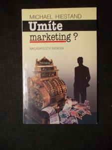 náhled knihy - Umíte marketing?