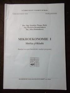 náhled knihy - VUT Brno: Mikroekonomie I. - sbírka příkladů