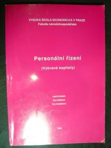 náhled knihy - Personální řízení