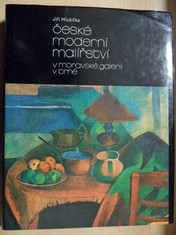 náhled knihy - České moderní malířství v Moravské galerii v Brně I. (období 1890-1919)