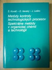 náhled knihy - Metódy kontroly technologických procesov : Spektrálne metódy v organickej chemii